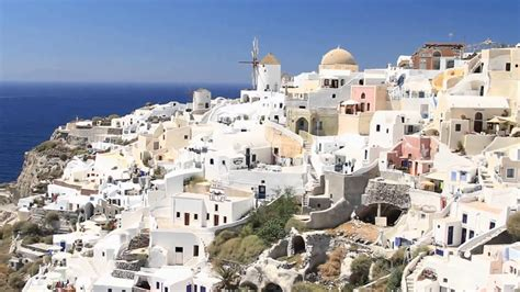 Greece Travel Destinations Santorini Island Youtube
