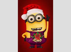 Christmas Minion iPhone 4 Wallpaper 640x960
