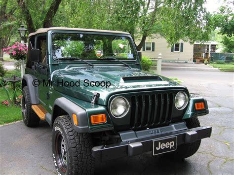 jeep hood jeep wrangler hood scoop hs009 by mrhoodscoop