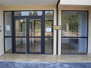 porte d39entree d39immeuble acier marseille 13 arles miramas With porte d entrée immeuble