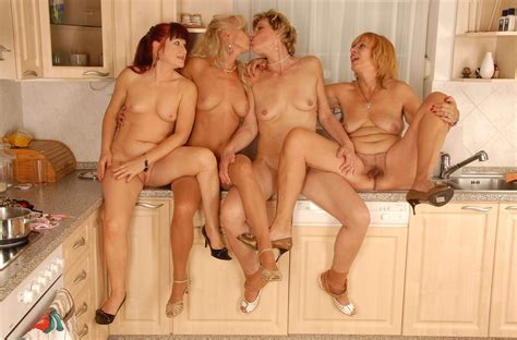 120 In Gallery Mature Geo Lesbian Foursome Picture