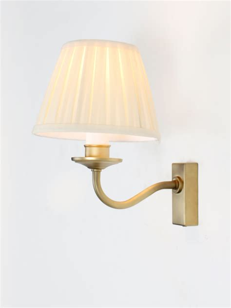 searchlight 0882ab antique brass wall light with led