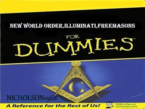 Illuminati For Dummies Illuminati Nwo Freemasons For Dummies