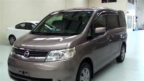 nissan serena 2006 nissan serena 20s 2006 8 seater 2 0l youtube