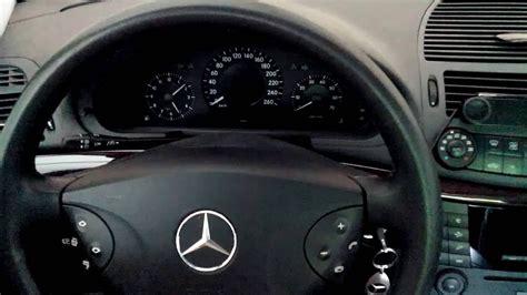 Mercedes Meldungen by Mercedes E200 W211 Ab Baujahr 01 09 2003 Service Reset