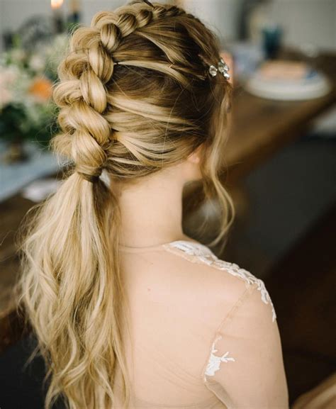 10 ultra ponytail braided hairstyles for long hair