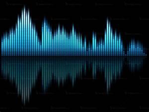 Music equalizer background