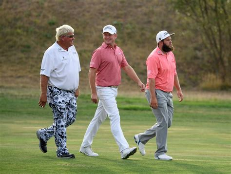 John Daly grabs a share of the lead at the Czech Masters ...