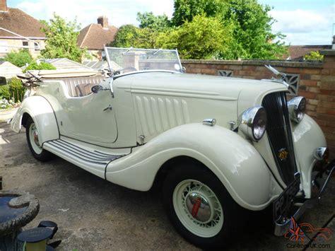 1934 Essex Terraplane Tourer 6 Cylinder 2600cc  Classic Car