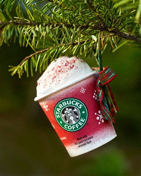 starbucks christmas ornament