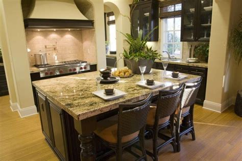 32 Kitchen Islands With Seating (chairs And Stools