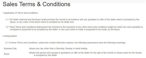 payment terms  terms conditions termsfeed