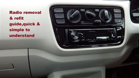 service manual  volkswagen tiguan stereo remove