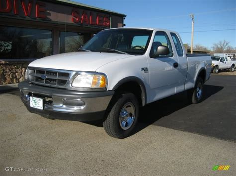 ford truck white 1998 oxford white ford f150 xlt supercab 4x4 59243393