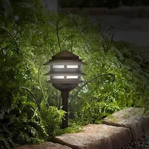 Pagoda, 12-piece, Complete, Outdoor, Led, Landscape, Lighting, Set