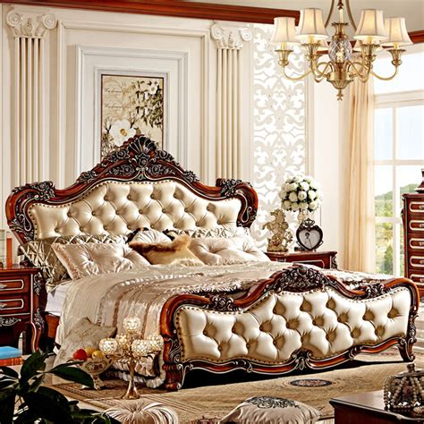 classic design beds wood bed designs  india classic bed