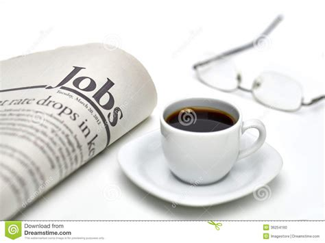 Jobs Newspaper With Coffee Stock Photo. Image Of Finance Miguel Coffee Nicosia Cabrera Drinks On Keto Diet For Sightglass Soma Is There More Caffeine In A Cup Of Or Espresso Vimeo Halloween