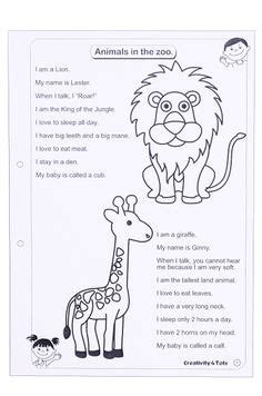 7 kindergarten zoo animal worksheets download them and