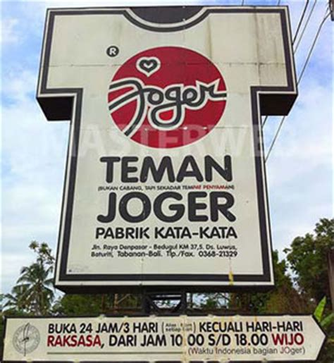 travel  bali island joger bali words factory