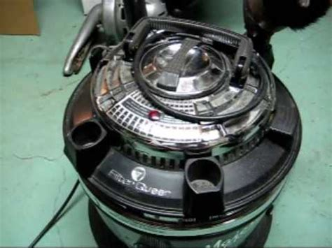 filter queen majestic canister vacuum youtube