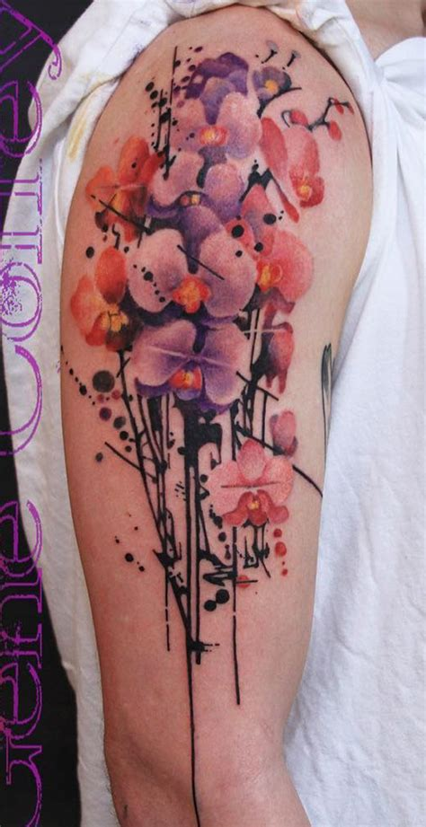 orchid tattoo ideas nenuno creative