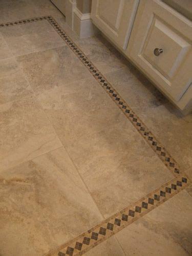 travertine border travertine tile with border wood floors tile floors rugs pinter