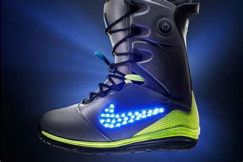 New Nike Light Up Shoes by Nike S Fresh New Light Up Led Snowboard Boots Digital Trends