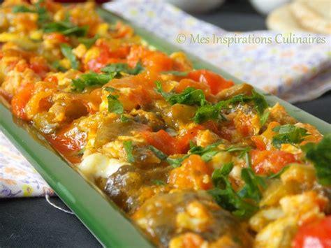 recettes de cuisine facile pour le soir chakchouka aux poivrons et oeufs le cuisine de samar