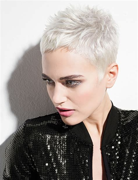 Pixie Hairstyles For Grey Hair by The 32 Coolest Gray Hairstyles For Every Lenght And Age