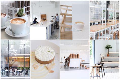 minimalist white cafes  singapore    visit