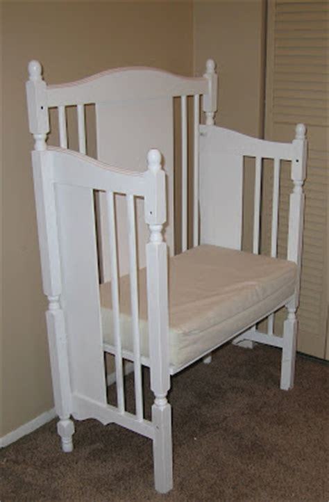 baby crib benches recycle illegal baby cribs
