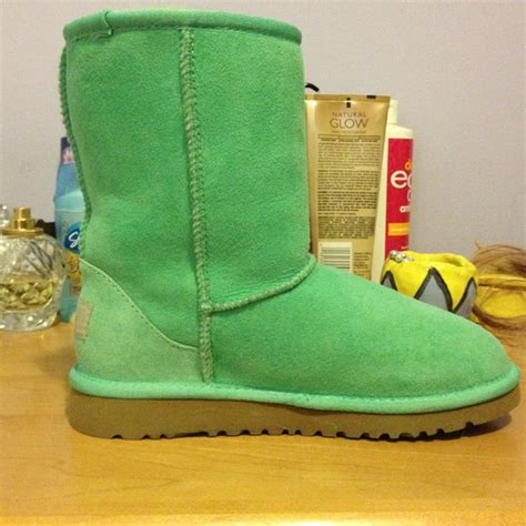 colored uggs 58 ugg shoes mint colored uggs from s closet