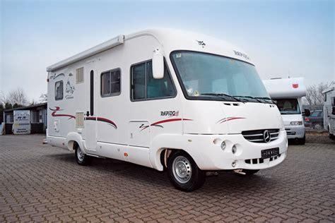 gebraucht kaufen gebrauchte wohnmobile rapido integrierter reisemobil international