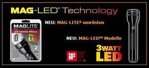 Maglite Auf Led Umrüsten : maglite led vs zweibr der x21 der shopblogger ~ Kayakingforconservation.com Haus und Dekorationen