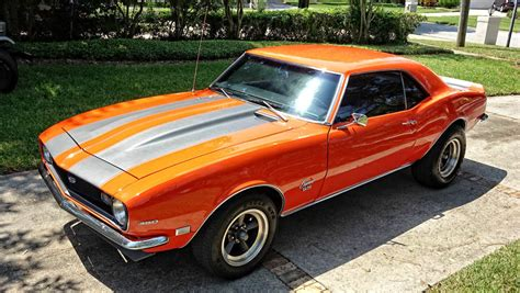 modded muscle cars 1968 chevrolet camaro ss resto mod muscle car