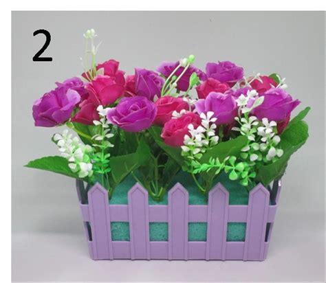 jual shabby chic pot bunga pagar flower pajangan vas