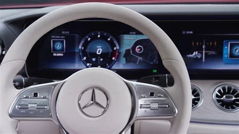 mercedes cls interior youtube