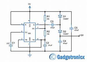 Dc Dc Voltage Doubler Circuit Diagram