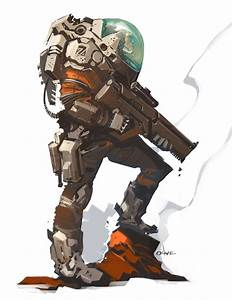 Mars Explorer by Michael O'Hare, Spaceship, spacesuit ...
