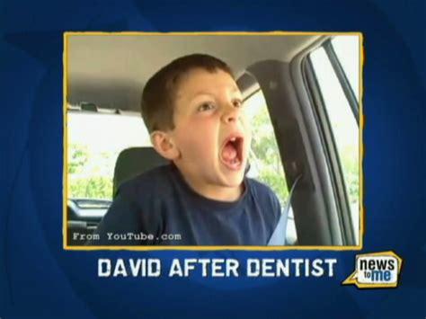 David After Dentist Meme - after dentist
