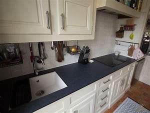Ikea Cuisine Evier : r novation de la cuisine pr paration de l 39 vier ikea domsj sous plan ~ Melissatoandfro.com Idées de Décoration