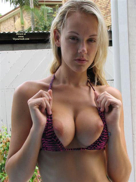 Huge Tits Bursting From Bra