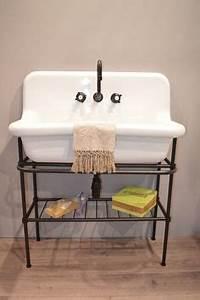 Colonne pour lavabo retro blanc leroy merlin 39e la for Lavabo salle de bain retro