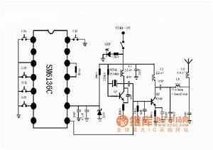 I U0026 39 M Yahica  Transmitter And Receiver Circuit Diagram For
