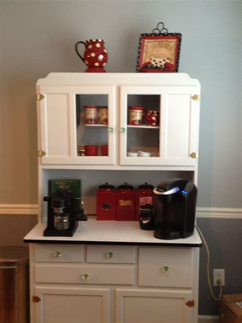 Home Bar Cupboard coffee bar in a hoosier cupboard hoosier cupboard in