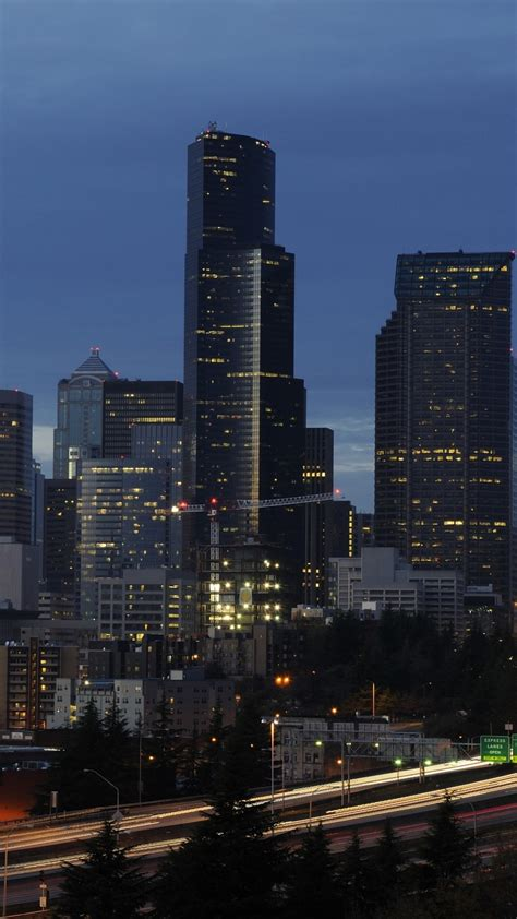 seattle skyline wallpaper  images