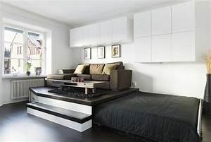 Meuble Lit Escamotable : meuble cuisine dimension lit coulissant sous estrade chambre nicolas pinterest ~ Farleysfitness.com Idées de Décoration