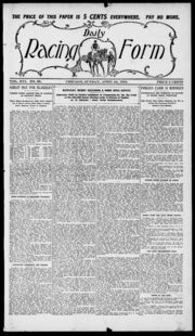 daily racing form n sunday april 10 1910 daily racing form free download streaming