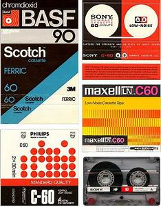 Vintage audio cassette tape sleeves. | Graphic Design ...