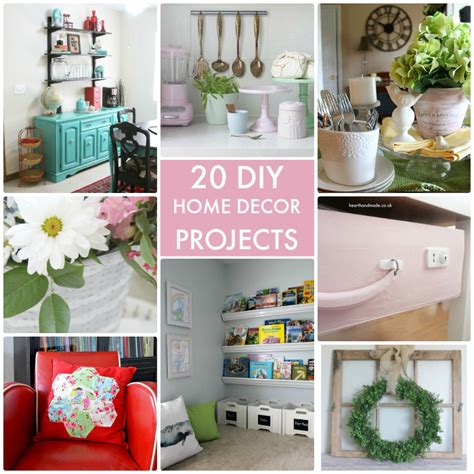 great ideas 20 diy home decor projects tatertots and
